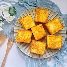 剩吐司的春天~芋泥吐司块#今天吃什么#