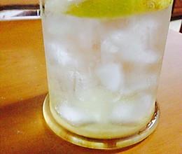 冰柠檬水的做法