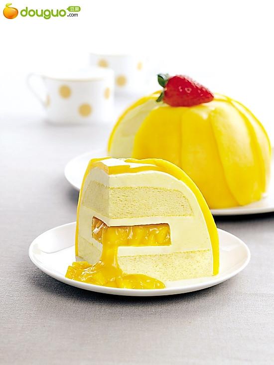 芒果蛋糕的做法