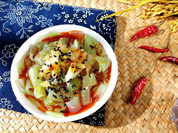 黃瓜涼皮——黃瓜新吃法