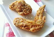 脆皮炸鸡翅的做法
