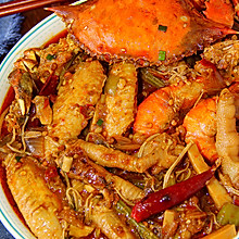肉蟹煲│最下饭