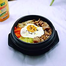 #太太乐鲜鸡汁蒸鸡原汤#肥牛石锅拌饭