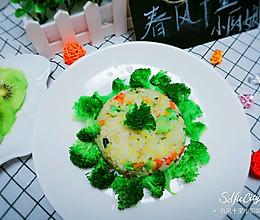 杂蔬炒米饭的做法