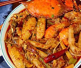 肉蟹煲│最下饭的做法