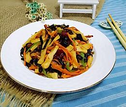 鱼香千页豆腐丝#给老爸做道菜#的做法