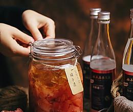 自制清香柚子酒 冬季的一罐微醺果酒的做法