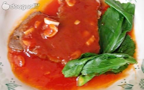 茄汁牛肉片的做法