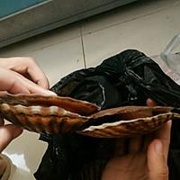 蒜蓉粉丝扇贝的做法图解2