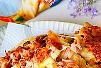 """#""""佳""""节好滋味#佳味香肠蘑菇披萨的做法"""