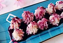 蓝莓山药泥的做法