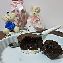 巧克力熔岩蛋糕完美爆浆