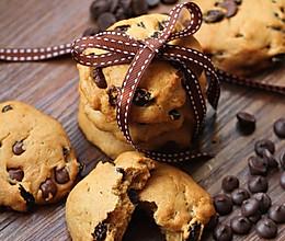 葡萄干巧克力软曲奇的做法