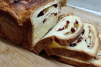 蔓越莓面包(面包机版)