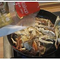姜葱炒梭子蟹的做法图解7