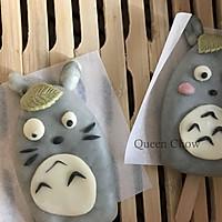 龙猫卡通雪糕包子Totoro---创意馒头的做法图解14