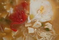简易版西红柿荷包蛋面条的做法