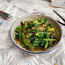 #钟于经典传统味#蒜蓉油麦菜