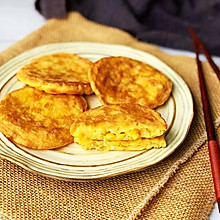 #晒出你的团圆大餐# 鸡蛋玉米饼
