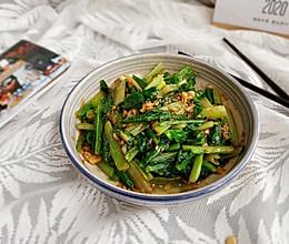 #钟于经典传统味#蒜蓉油麦菜的做法