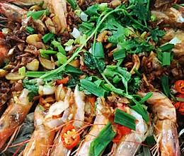 蒜蓉粉絲蝦的做法
