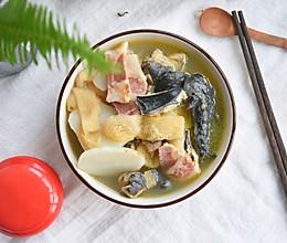 #秋天怎么吃#竹荪天麻火腿鸡的做法