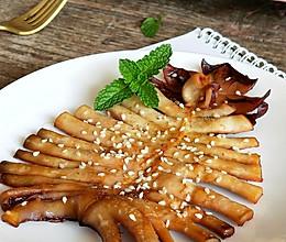 #白色情人节限定美味#超级下酒菜~香烤鱿鱼的做法