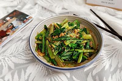 蒜蓉油麥菜