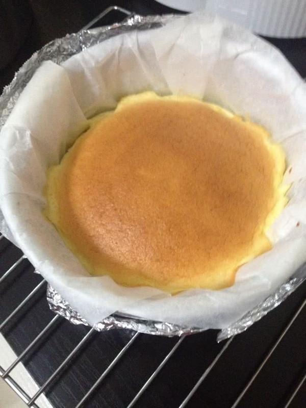 半熟芝士蛋糕(6寸)的做法