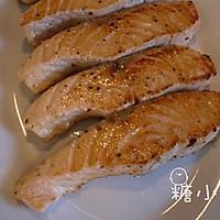 【芝士三文鱼】熟吃易消化的做法图解7