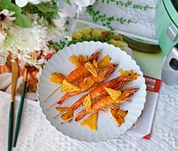 #我们约饭吧#菠萝烤虾的做法