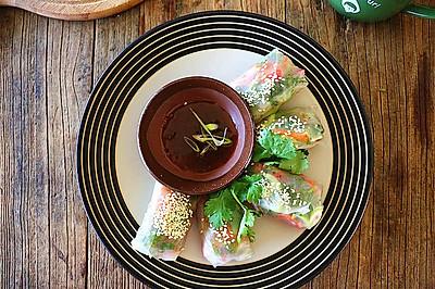 越南风味蔬菜卷