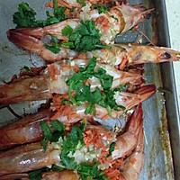蒜蓉烤虾的做法图解3