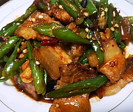 青椒炒回锅肉的做法