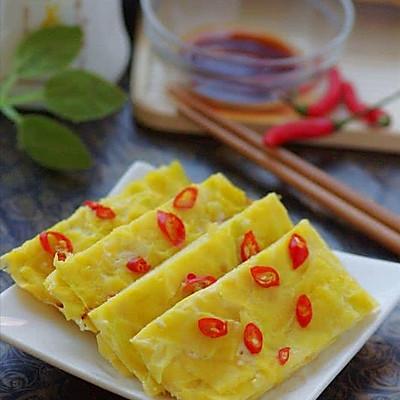 南瓜也可以这样吃 —— 5分钟速成的清甜软嫩南瓜烙