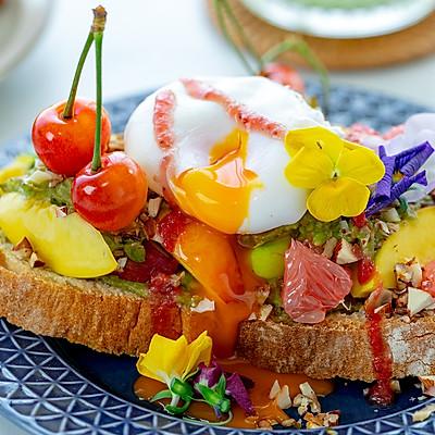 牛油果鸡蛋吐司 瘦身早餐