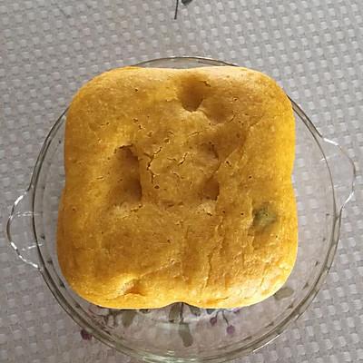 面包机版南瓜面包(普通面粉)