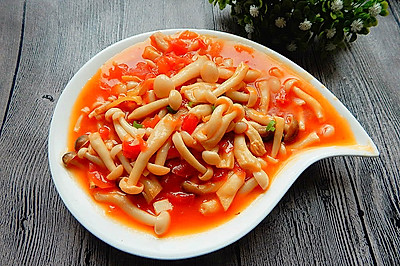 茄汁白玉菇