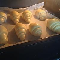 黄油 面包  牛角包的做法图解11