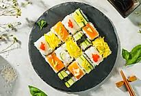 懒人免卷箱寿司的做法