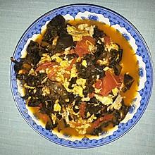 木耳西红柿炒鸡蛋