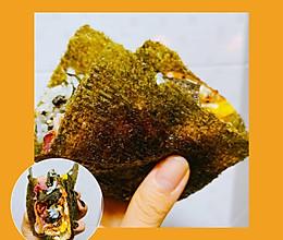 #糖小朵甜蜜控糖秘籍#海苔三明治的做法