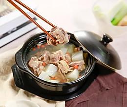 羊肉炖萝卜,秋冬滋补驱寒必备!做法简单,一家人享受冬日温暖!的做法