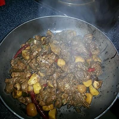 干锅鸭肉的做法 步骤10