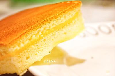 芝士古早蛋糕(燙面法+水浴法)