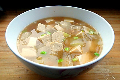 冬瓜豆腐汤