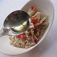 #苏泊尔智能电饭煲#剁椒蒸金针菇的做法图解8