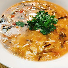 酸辣汤,秋天喝上一碗,拒绝寒冷。