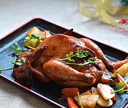 香喷喷的烤鸡的做法
