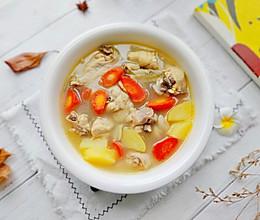 #入秋滋补正当时#土豆胡萝卜炖鸡汤的做法